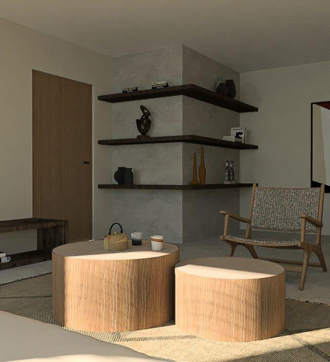 Wabi Sabi home interieur