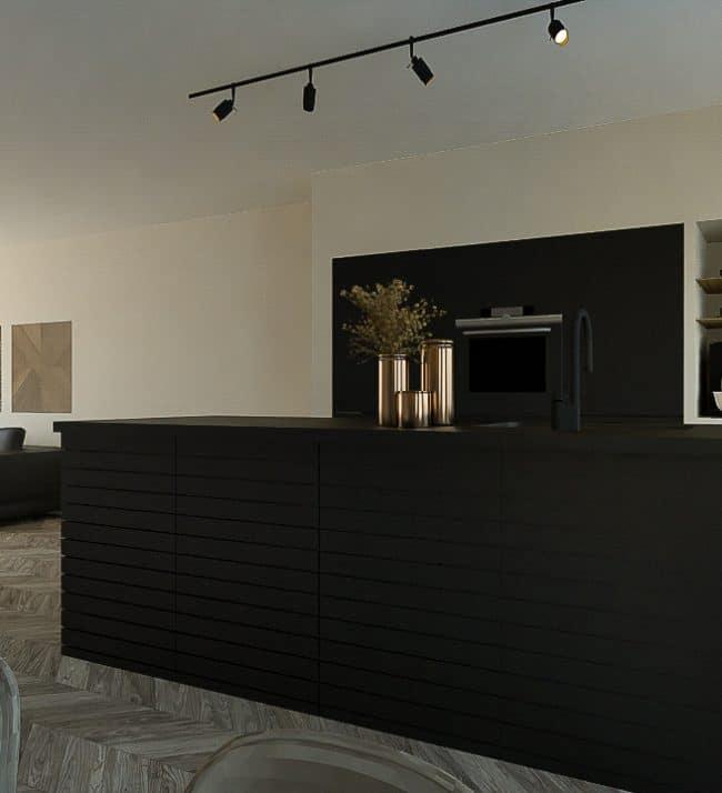 Woonkeuken ontwerp Den Haag - ontwerpstudio KELLY