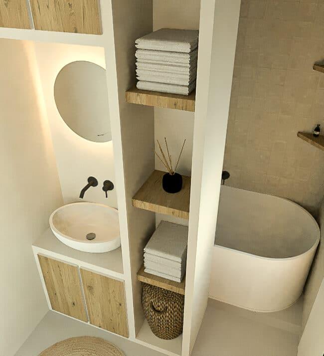 Badkamer ontwerp - Kelly Interieur Design